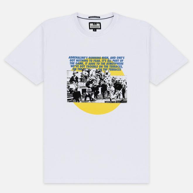 Мужская футболка Weekend Offender Trouble White