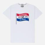 Мужская футболка Weekend Offender Ultra Flag White фото- 0