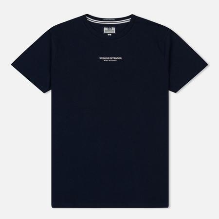 Мужская футболка Weekend Offender Zavatteri Navy