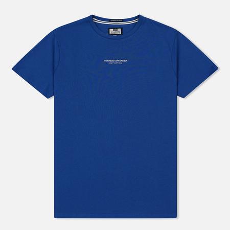 Мужская футболка Weekend Offender Zavatteri Reef Blue