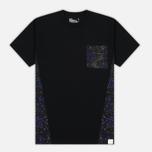 Мужская футболка White Mountaineering Desert Camouflage Printed Contrast Black фото- 0