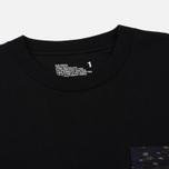 Мужская футболка White Mountaineering Desert Camouflage Printed Contrast Black фото- 1