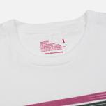 Мужская футболка White Mountaineering Printed Barcode White фото- 1