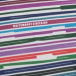 Мужская футболка White Mountaineering Printed Barcode White фото- 2
