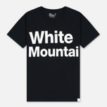 Мужская футболка White Mountaineering Printed Black фото- 0