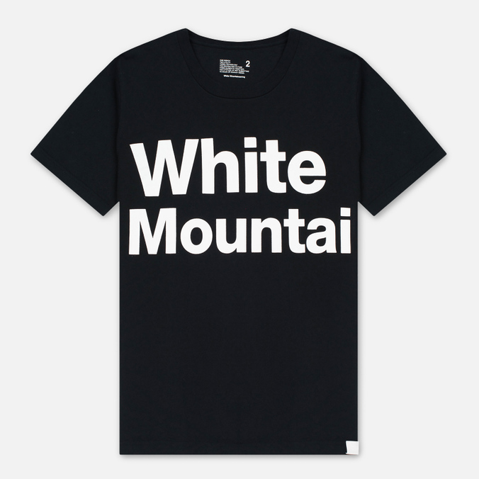 Мужская футболка White Mountaineering Printed Black