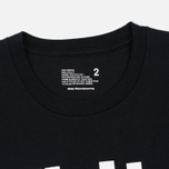 Мужская футболка White Mountaineering Printed Black фото- 2