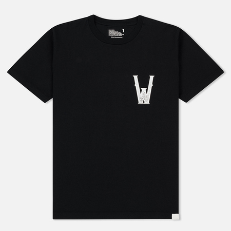 Мужская футболка White Mountaineering Printed Front W Black