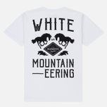 Мужская футболка White Mountaineering Printed Front W White фото- 4