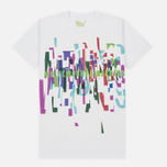 Мужская футболка White Mountaineering Printed Multicolor White Mountaineering White фото- 0