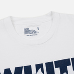 Мужская футболка White Mountaineering Printed Shark White фото- 1