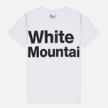 Мужская футболка White Mountaineering Printed White фото- 0