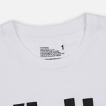 Мужская футболка White Mountaineering Printed White фото- 2