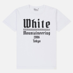 Мужская футболка White Mountaineering Printed White Mountaineering 2006 Tokyo White фото- 0