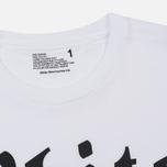 Мужская футболка White Mountaineering Printed White Mountaineering 2006 Tokyo White фото- 1