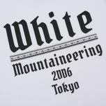 Мужская футболка White Mountaineering Printed White Mountaineering 2006 Tokyo White фото- 2