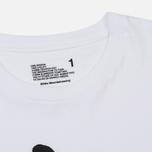 Мужская футболка White Mountaineering Printed White Mountaineering White фото- 1