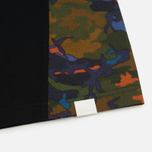 Мужская футболка White Mountaineering Spectrum Camouflage Printed Contrast Black фото- 3