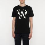 Мужская футболка Wood Wood AA Two Tones Black фото- 4