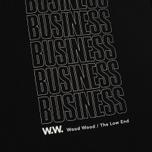 Мужская футболка Wood Wood Business Black фото- 2