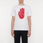 Мужская футболка Wood Wood Hand White фото- 4