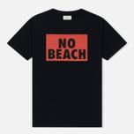 Мужская футболка Wood Wood No Beach Navy фото- 0