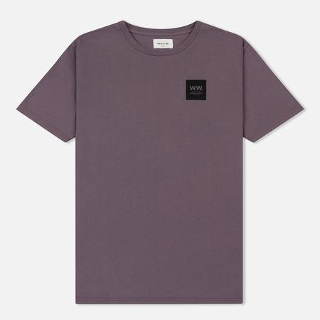 Мужская футболка Wood Wood WW Box Purple/Black