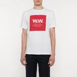 Мужская футболка Wood Wood WW Square White фото- 4