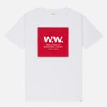 Мужская футболка Wood Wood WW Square White фото- 0