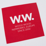 Мужская футболка Wood Wood WW Square White фото- 2