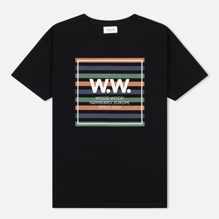 Мужская футболка Wood Wood WW Stripes Black