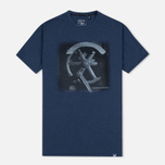 Woolrich Flame Jersey Men's T-shirt Blue photo- 0
