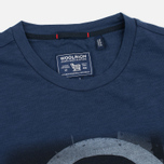 Woolrich Flame Jersey Men's T-shirt Blue photo- 1