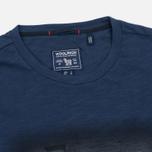 Woolrich Flame Jersey Men's T-shirt Navy photo- 1