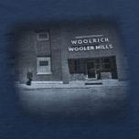 Woolrich Flame Jersey Men's T-shirt Navy photo- 2