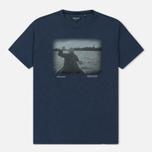 Мужская футболка Woolrich Heritage Mood Indigo фото- 0