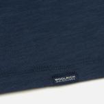 Мужская футболка Woolrich Heritage Mood Indigo фото- 3