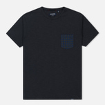Мужская футболка Woolrich Pocket Dark Navy фото- 0