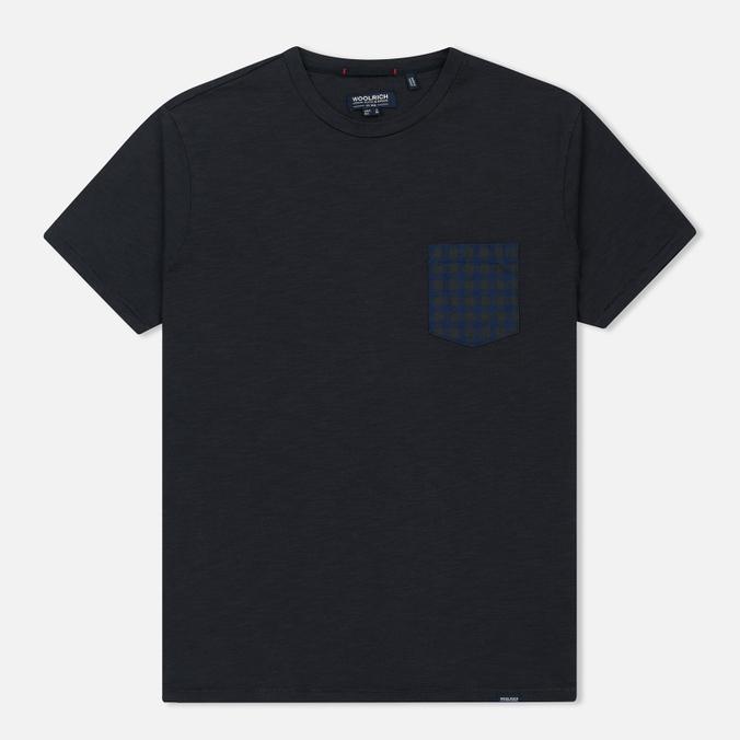 Мужская футболка Woolrich Pocket Dark Navy