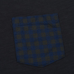 Мужская футболка Woolrich Pocket Dark Navy фото- 2