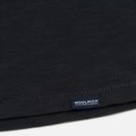 Мужская футболка Woolrich Pocket Dark Navy фото- 3