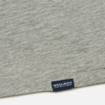 Мужская футболка Woolrich Pocket Light Grey Melange фото- 3