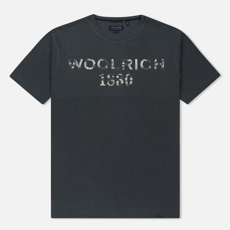Мужская футболка Woolrich Print Woolrich 1830 Dark Navy