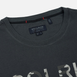 Мужская футболка Woolrich Print Woolrich 1830 Dark Navy фото- 1