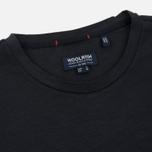 Мужская футболка Woolrich Printed Pocket Dark Navy фото- 1