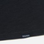 Мужская футболка Woolrich Printed Pocket Dark Navy фото- 3