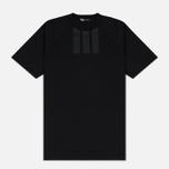 Мужская футболка Y-3 3-Stripes Black фото- 0