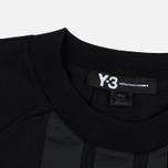 Мужская футболка Y-3 3-Stripes Black фото- 1