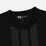 Мужская футболка Y-3 3-Stripes Black фото- 2