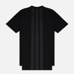 Мужская футболка Y-3 3-Stripes Black фото- 5